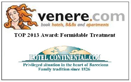 Top 2013 Award. Formidable Treatment