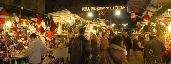 christmas market barcelona 2014
