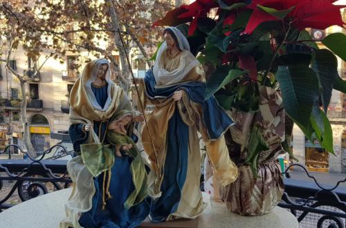 Pesebre Christmas hotel continental Barcelona