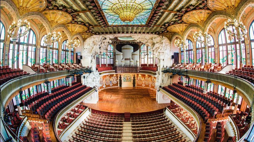 Palau de la Música Catalana Hotel Continental Barcelona