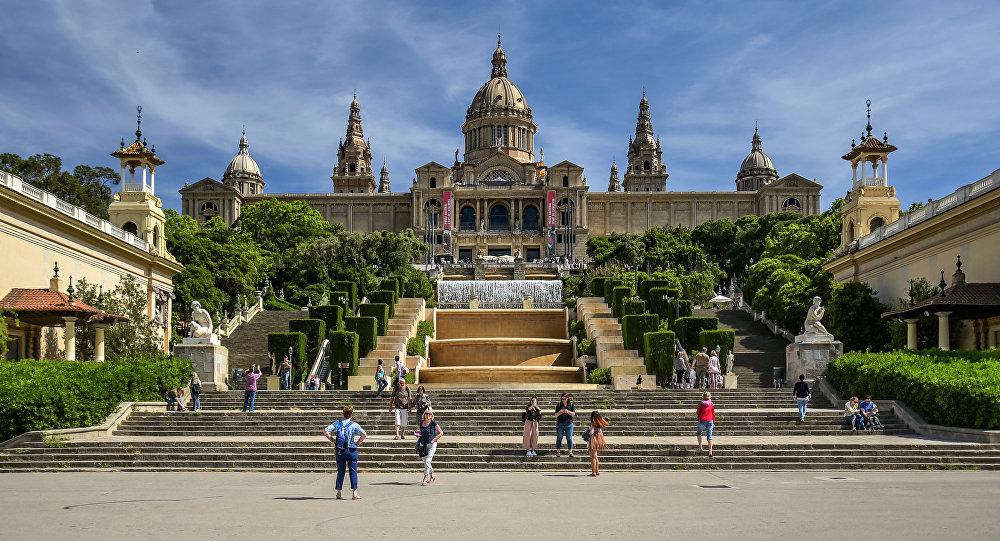 Palau Nacional Catalunya MNAC Hotel Continental Barcelona