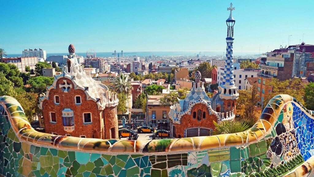 parque güell Barcelona Hotel Continental