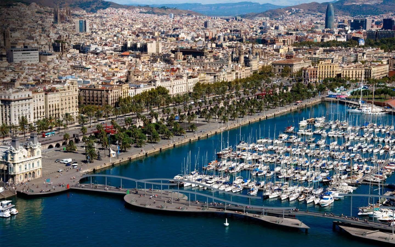Barcelona Hotel Continental Port Vell marina