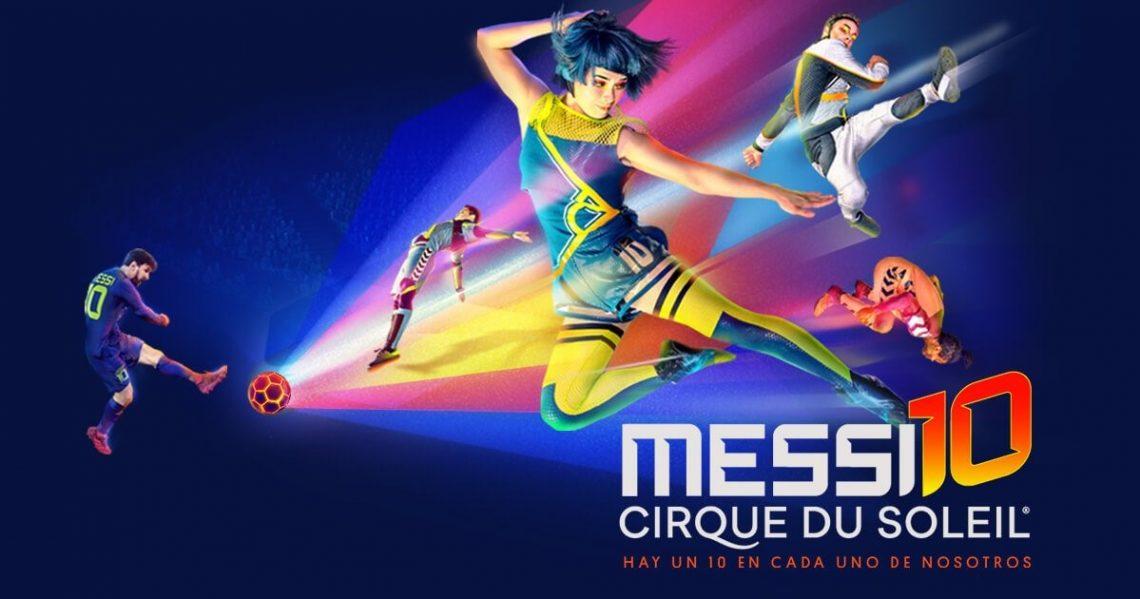 Messi10 cirque du soleil barcelona hotel continental