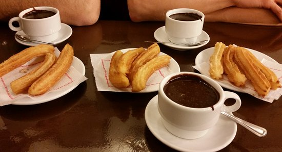 choco churros hotel continental barcelona