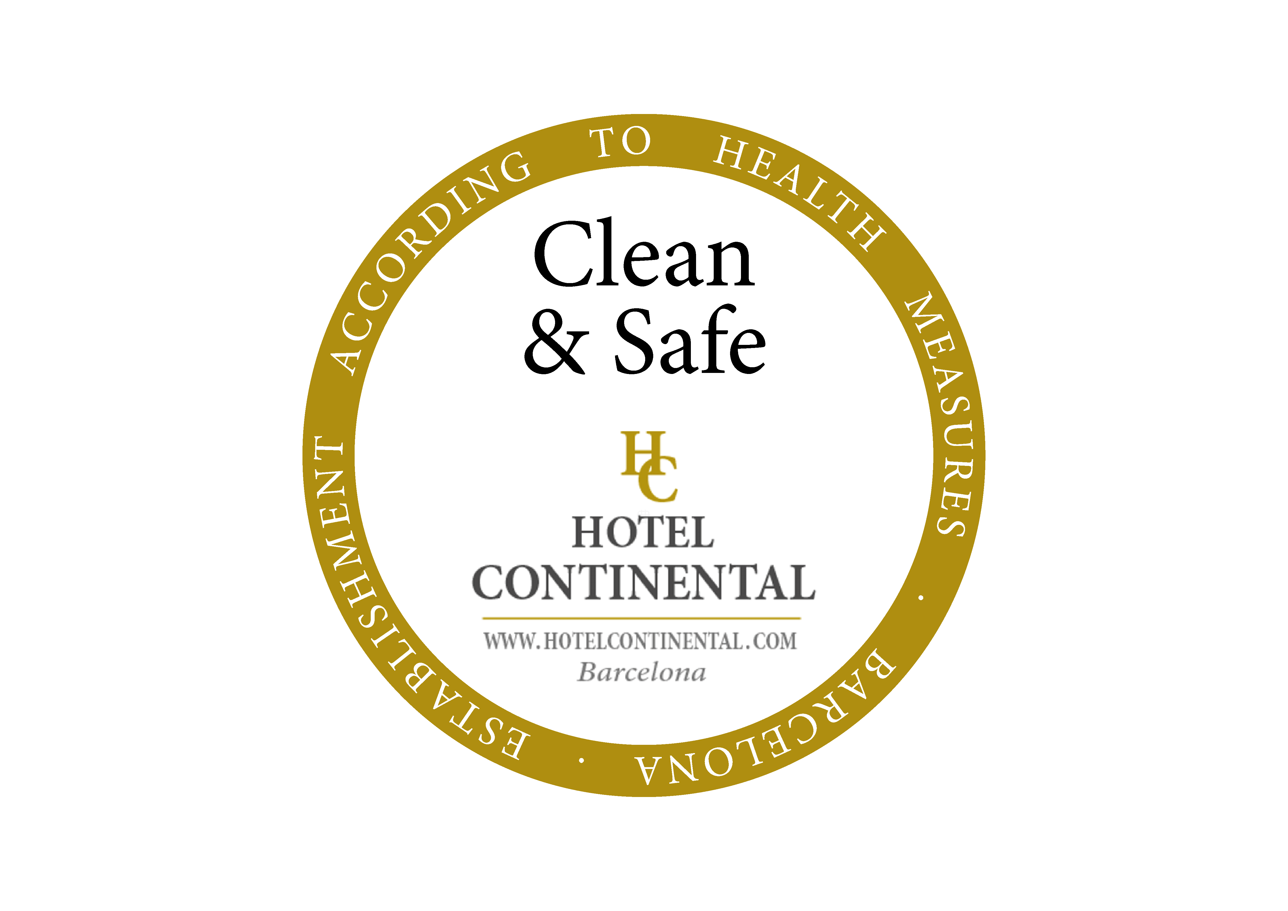 Continental palacete Hotel Barcelona Clean & Safe